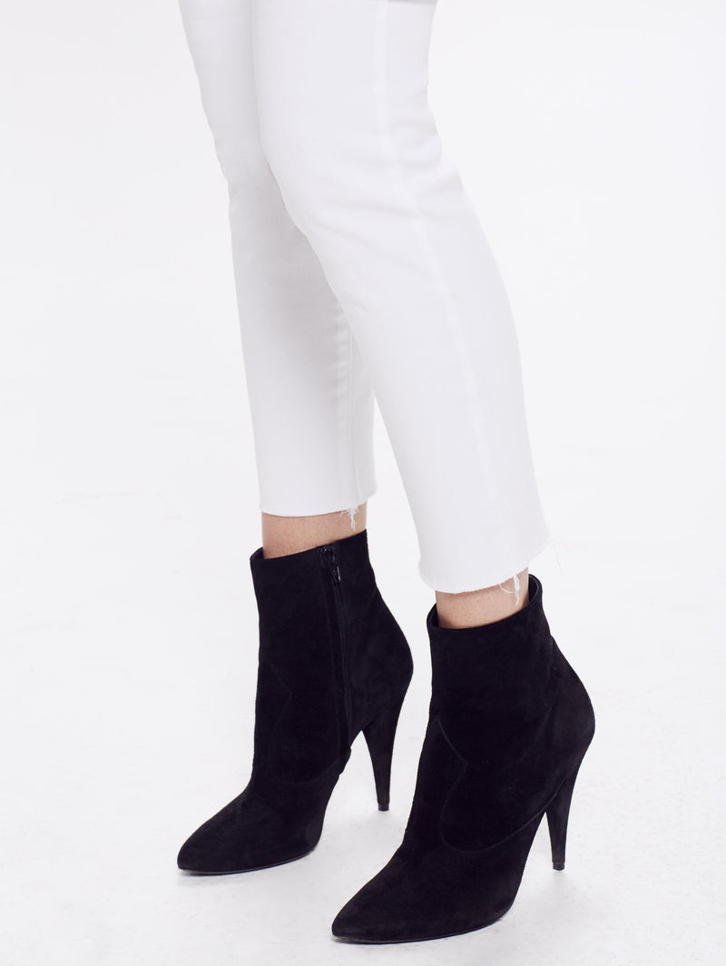 MOTHER Looker Ankle Fray | Glass Slipper