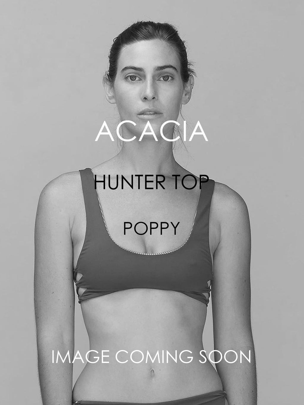 ACACIA Hunter Top | Poppy