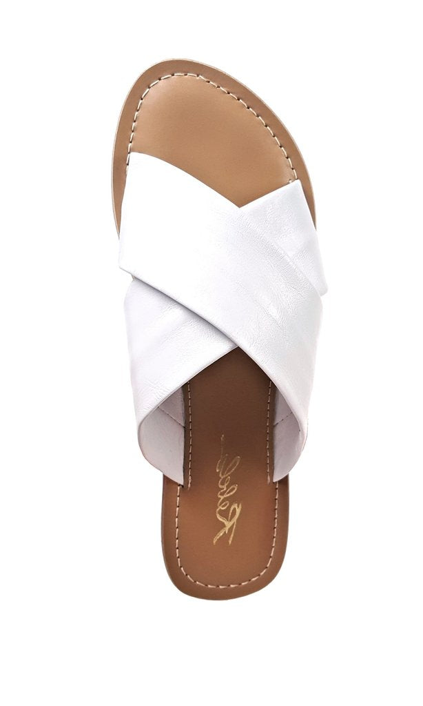REBELS Jenny Sandal | White