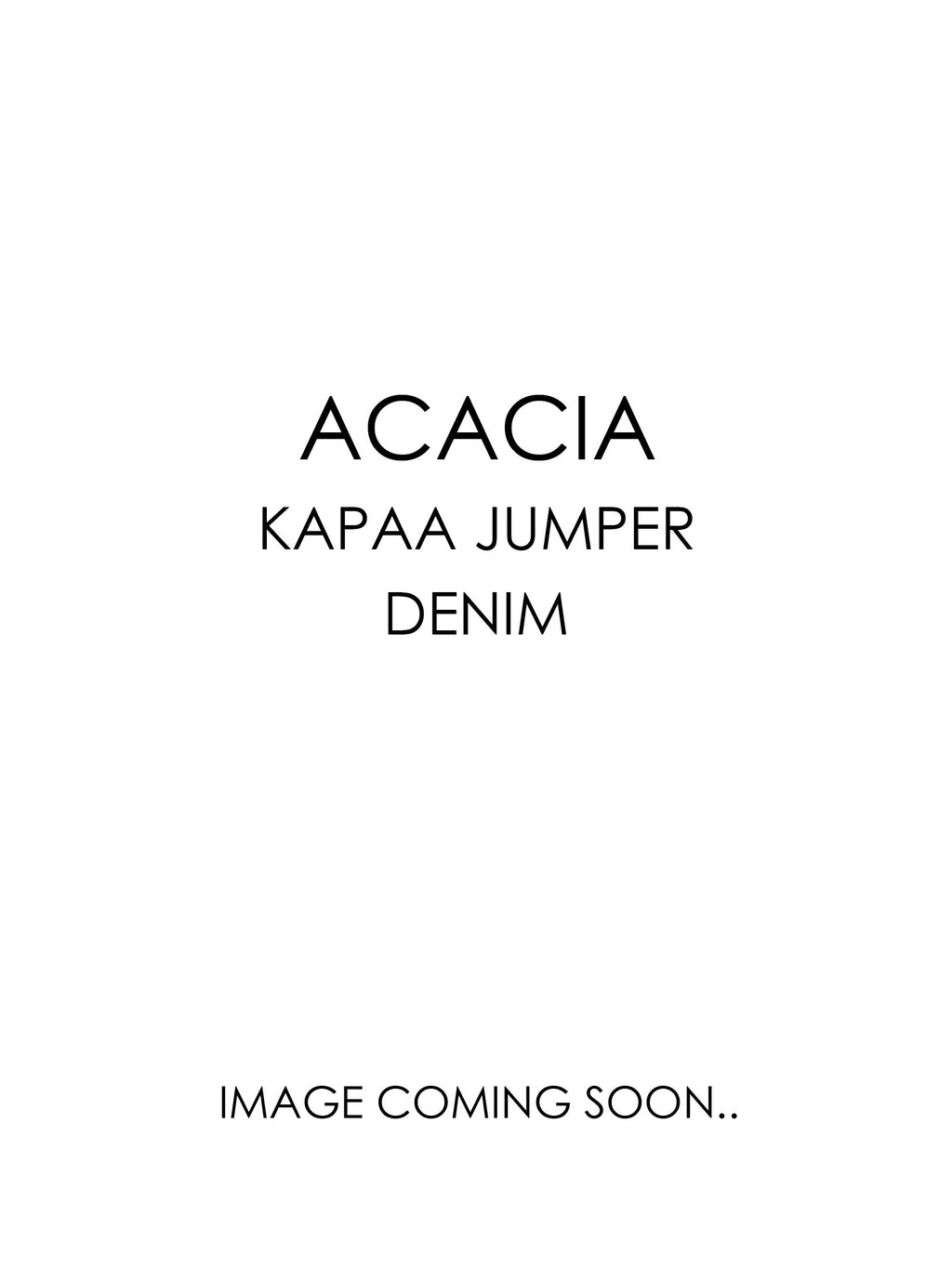 ACACIA Kapaa Jumper | Denim