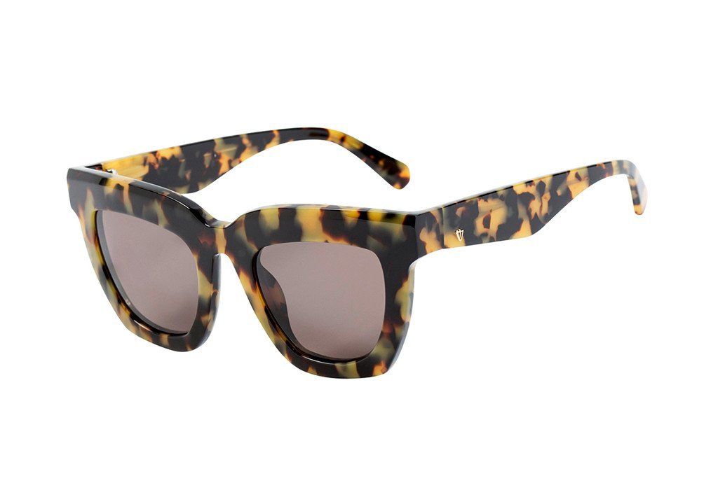 VALLEY EYEWEAR LUDLOW | Yellow Tort / Brown Lens