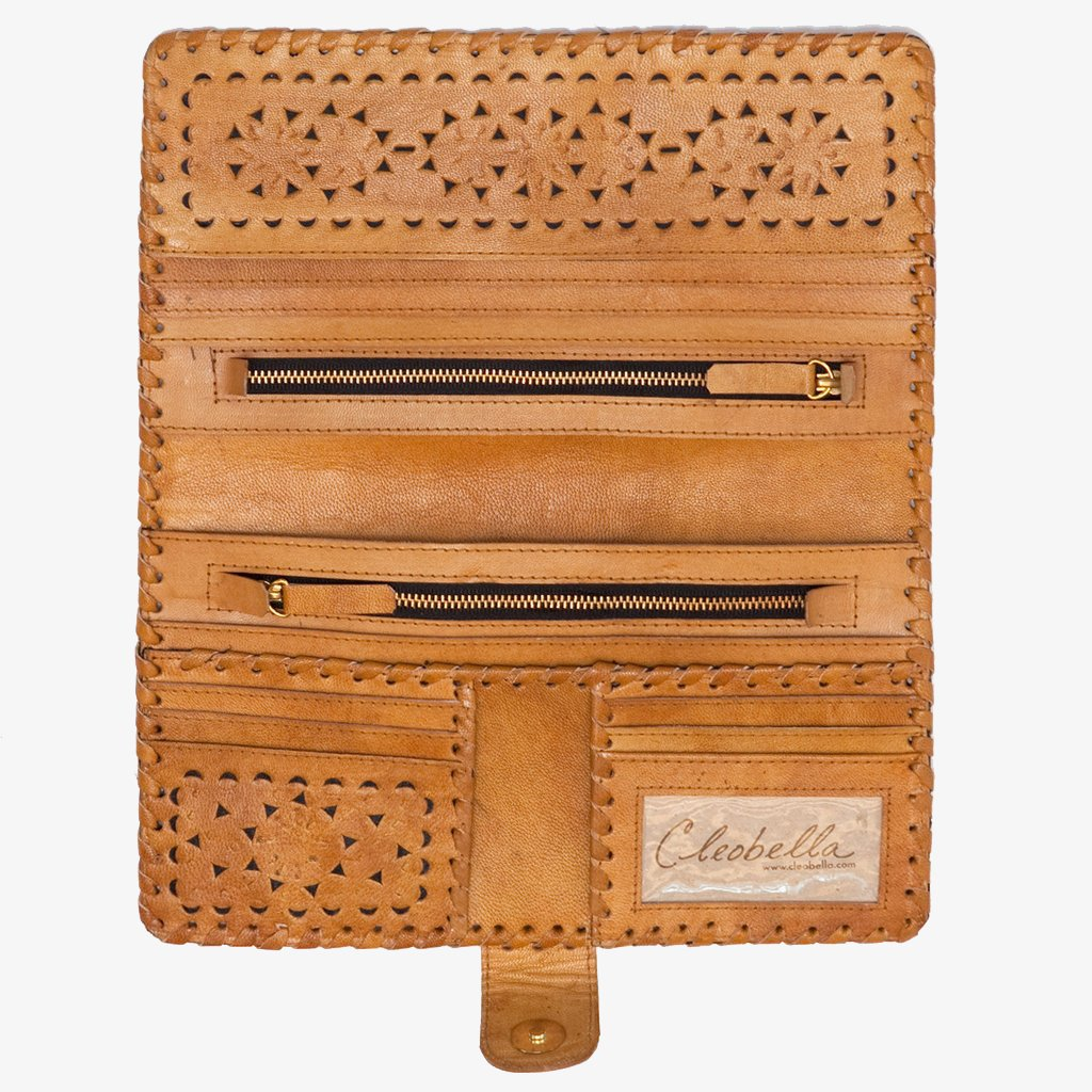 CLEOBELLA Mexicana Clutch | Tan
