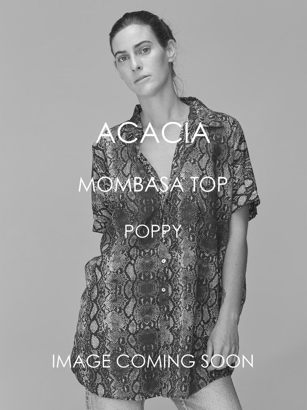 ACACIA Mombasa Top | Poppy