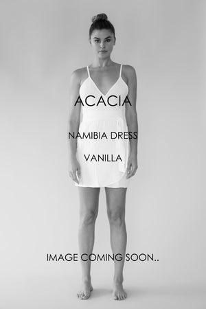 ACACIA Namibia Dress | Vanilla