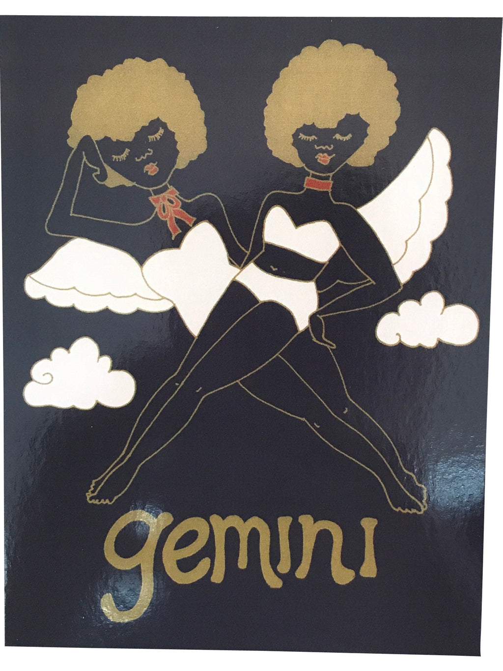 SUGARHIGH LOVESTONED Zodiac Postcard | Gemini