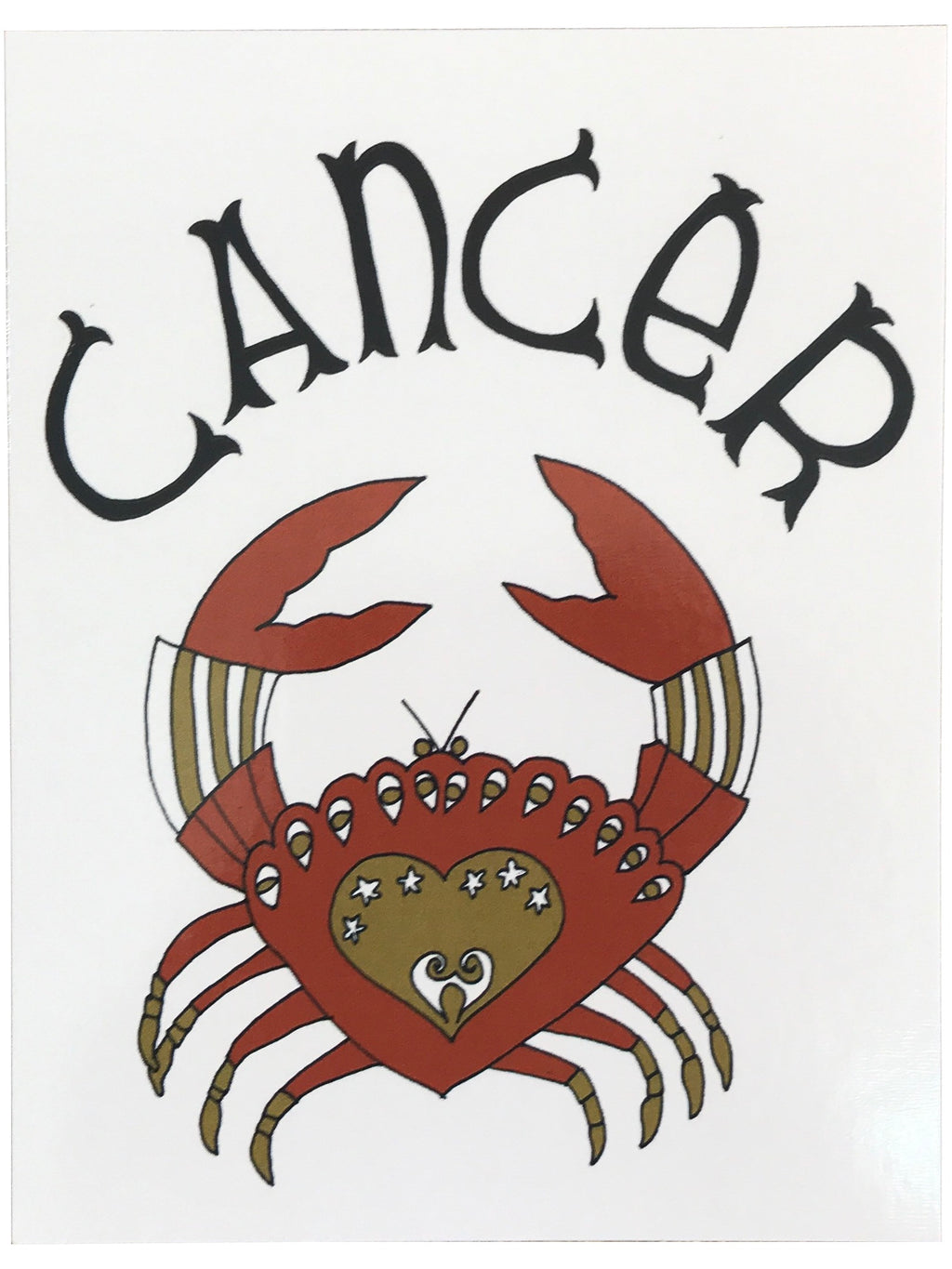 SUGARHIGH LOVESTONED Zodiac Postcard | Cancer