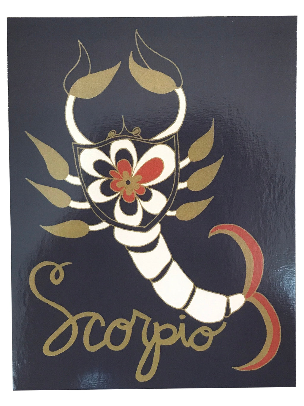 SUGARHIGH LOVESTONED Zodiac Postcard | Scorpio