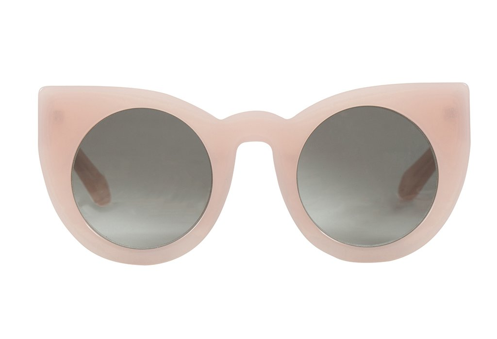 VALLEY EYEWEAR Wolves JNR | Baby Pink / Black Gradient