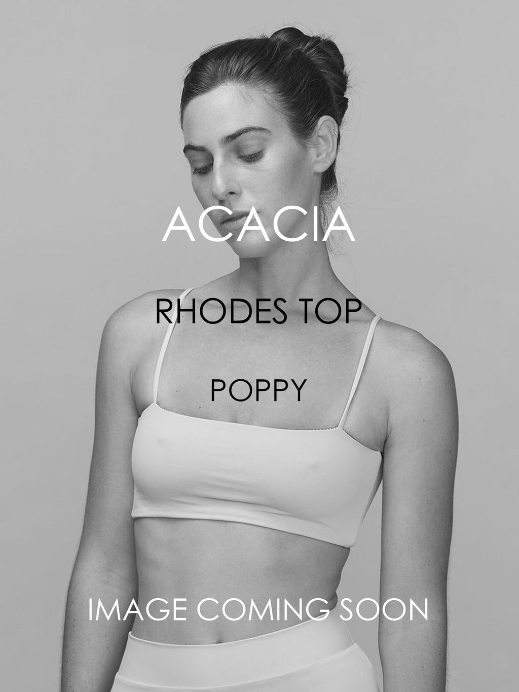 ACACIA Rhodes Top | Poppy