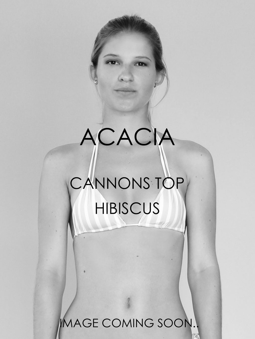 *PRE-ORDER* ACACIA SWIMWEAR Cannons Top | Hibiscus