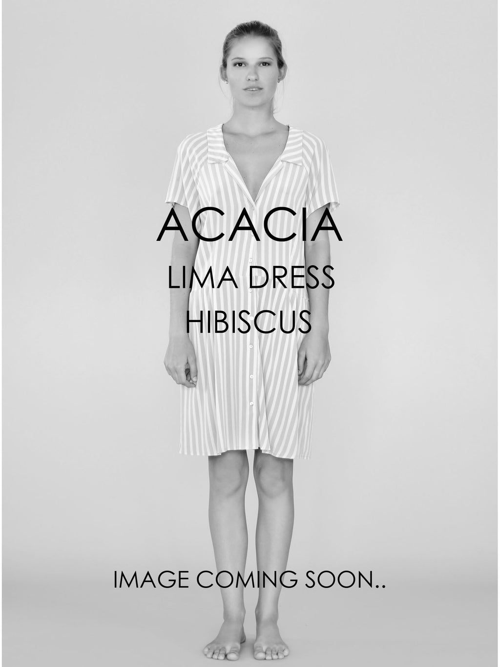 ACACIA Lima Dress | Hibiscus