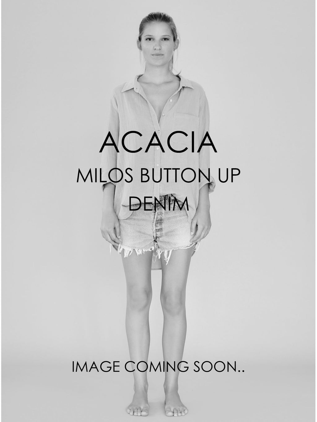 ACACIA Milos Button Up | Denim