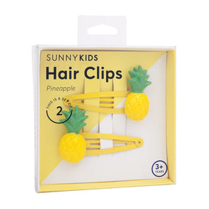 SUNNYLIFE Hair Clips | Pineapples