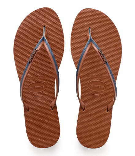 HAVAIANAS You Jean Sandal | Navy Blue / Rust