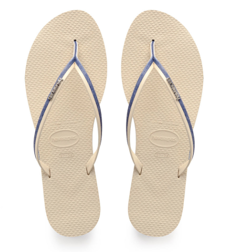 HAVAIANAS You Jean Sandal | Navy Blue / Beige