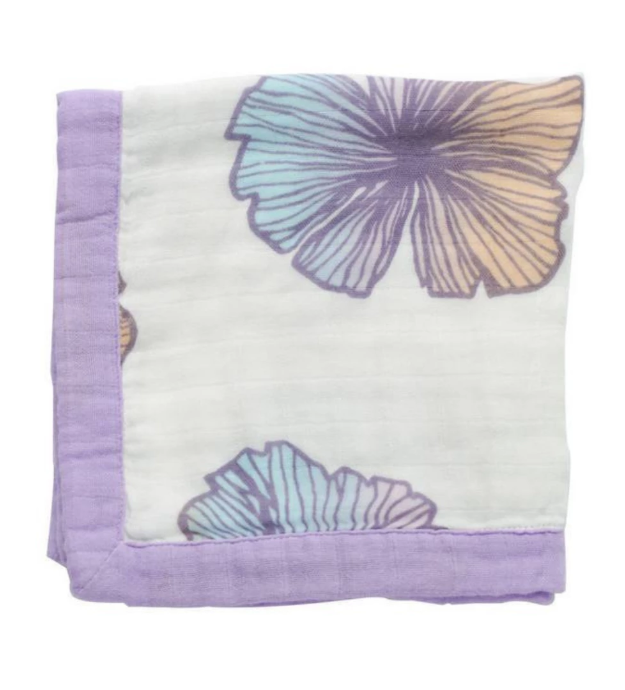 COCO MOON Hawaiian Quilt | Sea Flower