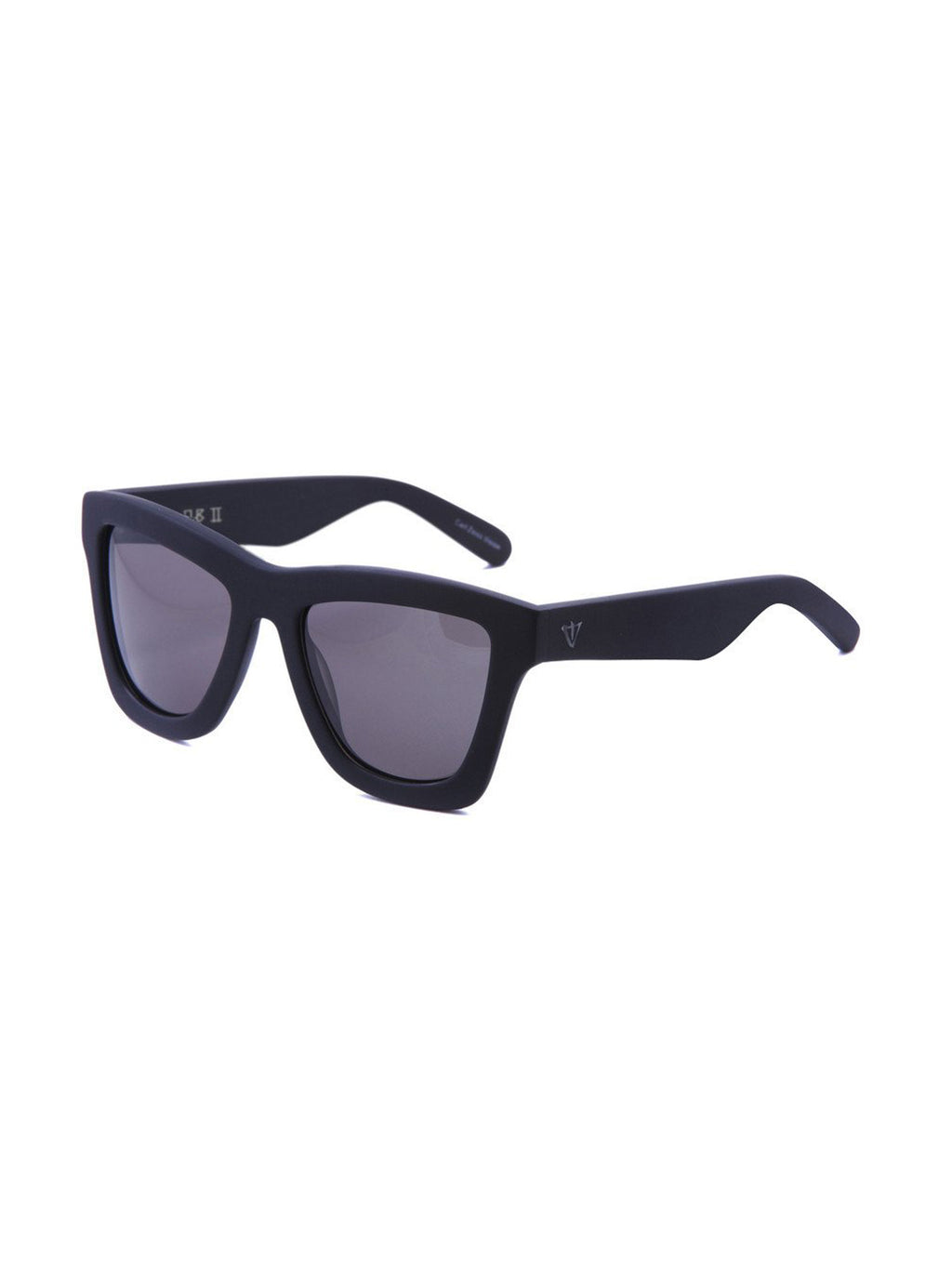 VALLEY EYEWEAR DB II | Matte Black / Black Lens