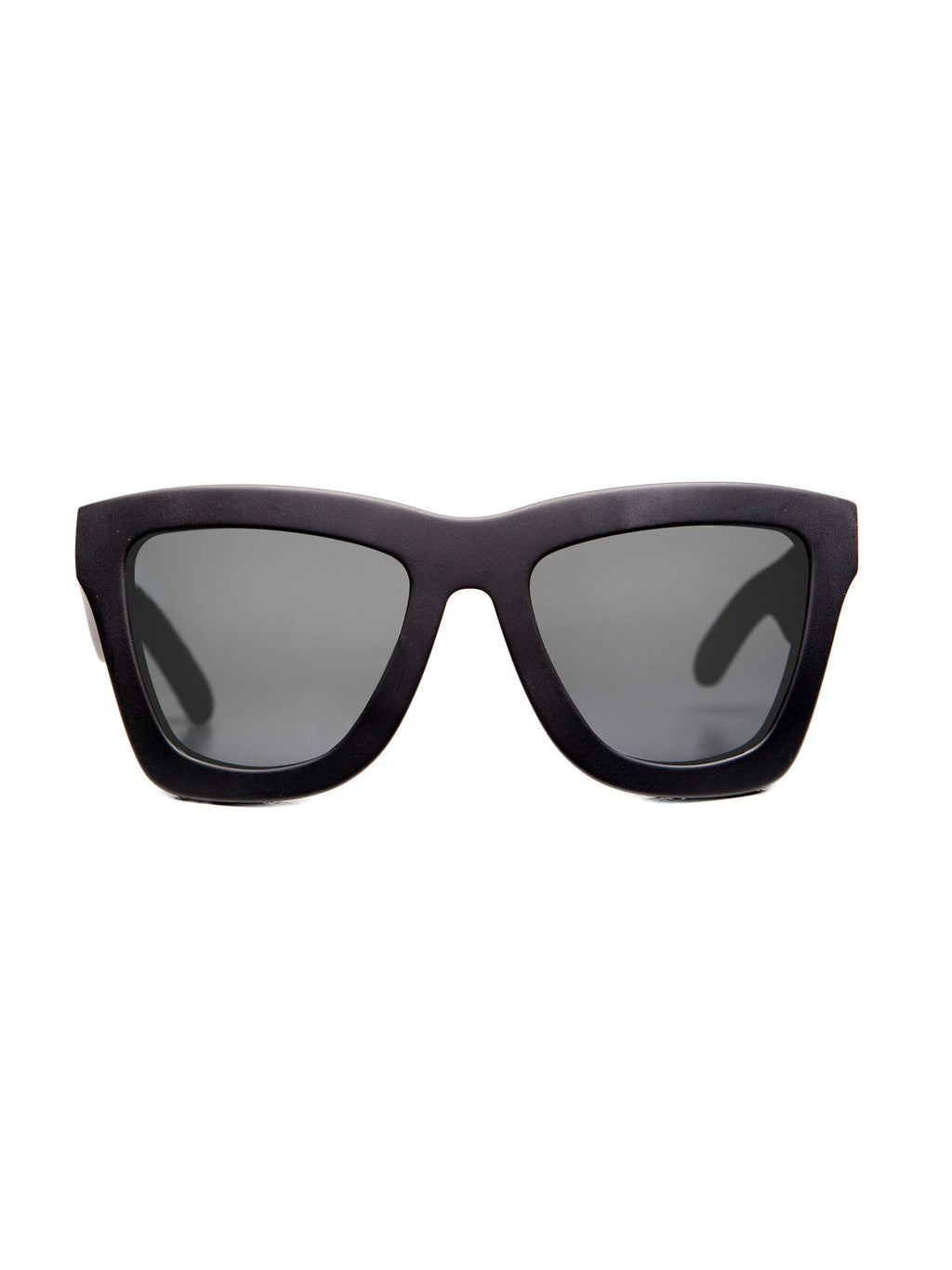VALLEY EYEWEAR DB | Matte Black / Black Lens