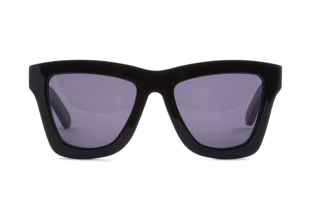 VALLEY EYEWEAR DB | Gloss Black / Black Lens