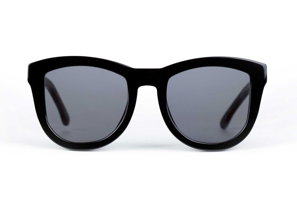 VALLEY EYEWEAR TRACHEA | Gloss Black / Black Lens