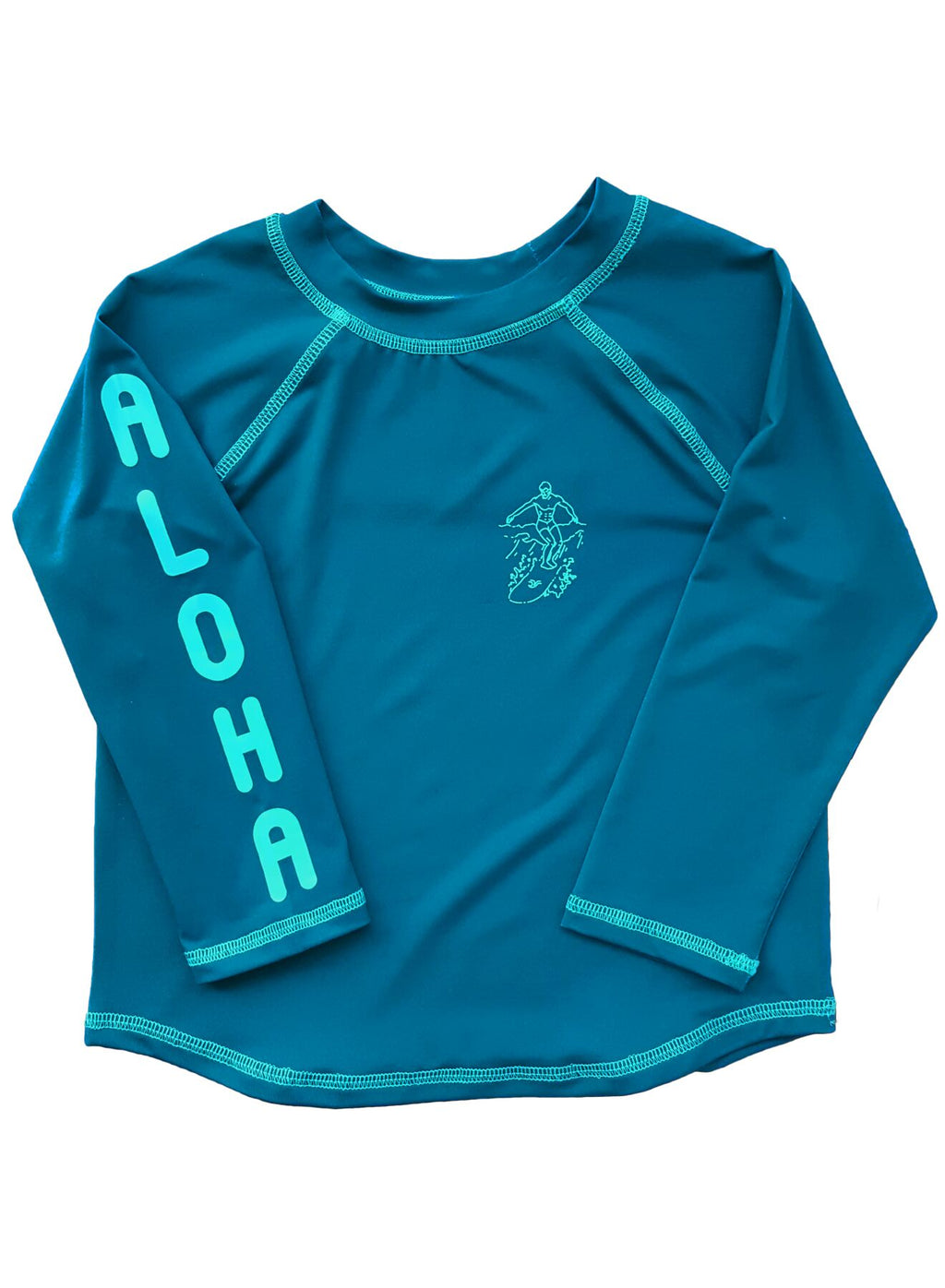 FEATHER 4 ARROW Aloha Rashguard