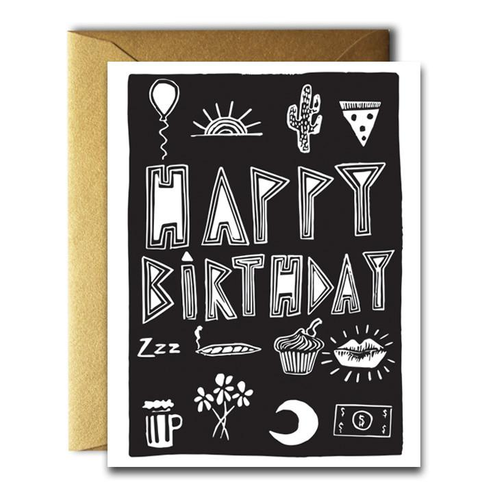 NATIVE BEAR Greeting Card | Happy Birthday Stuff