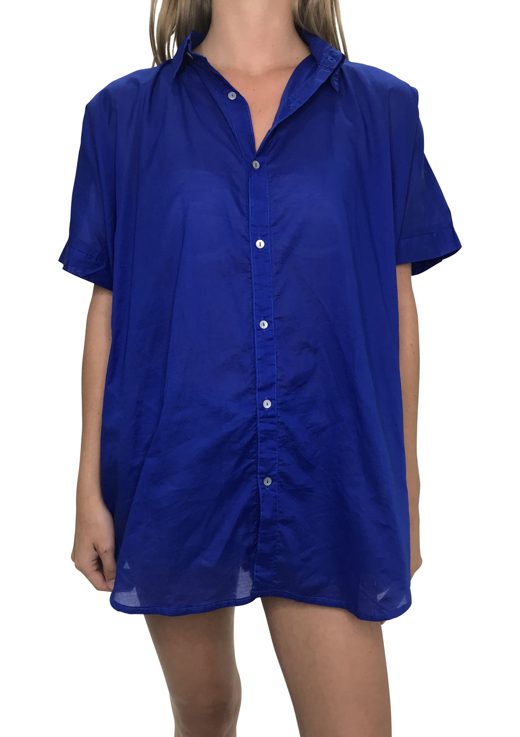 ACACIA Mombasa Button Up | Royal