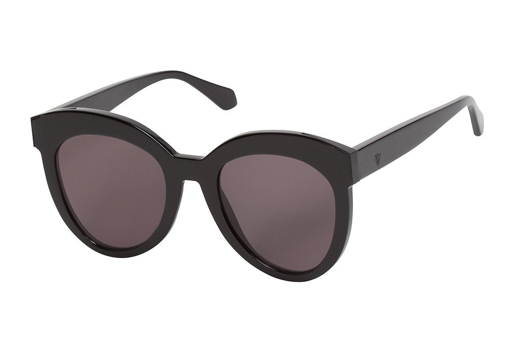 VALLEY EYEWEAR Jawbone | Gloss Black w/ Black Lens