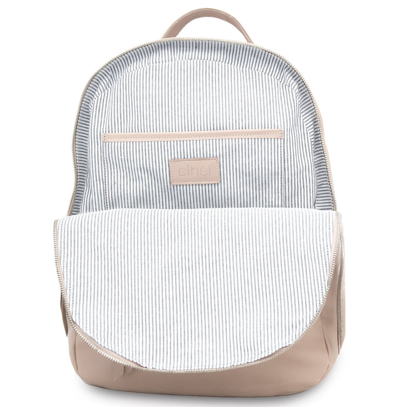 CLHEI Gaucho Leather Backpack | Latte