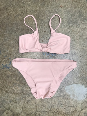 MIKOH MINI Bella Top & Makapuu Bottom | Rose