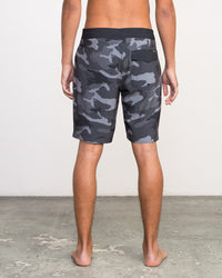 RVCA Mens Islands VA Boardshort | Black Camo