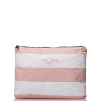 ALOHA COLLECTION Mid Umbrella Stripe | Guava