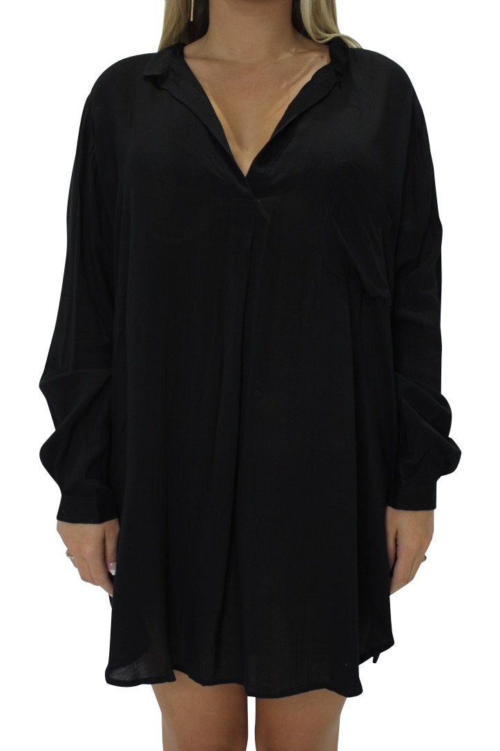 INDAH Current Tunic | Black