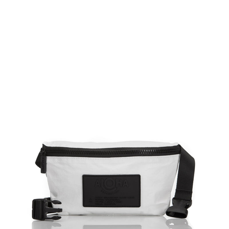 ALOHA COLLECTION Mini Hip Pack | White
