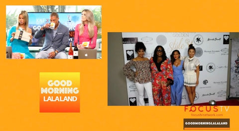 The Ladies of The REAL visit the Daytime Emmy's Style Lounge including Vanity Girl Pop Up