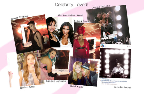 Vanity Girl Hollywood and a quick snapshot of the celebrities and influencers who love this original Hollywood Vanity cult beauty brand
