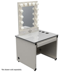 VANITY GIRL HOLLYWOOD BROADWAY LIGHTED VANITY MAKEUP MIRROR & DESK SET - Vanity Girl Popup