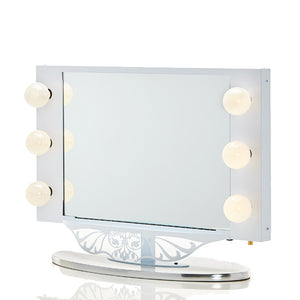 VANITY GIRL HOLLYWOOD STARLET LIGHTED VANITY MIRROR - Vanity Girl Popup
