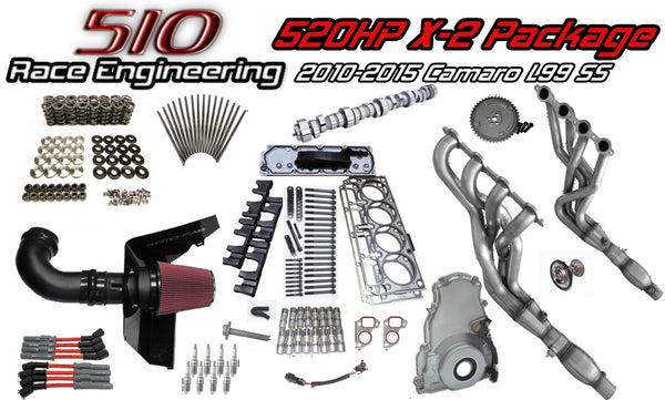 510 Race Engineering 520HP X-2 Package for 2010 + Camaro SS L99s with
