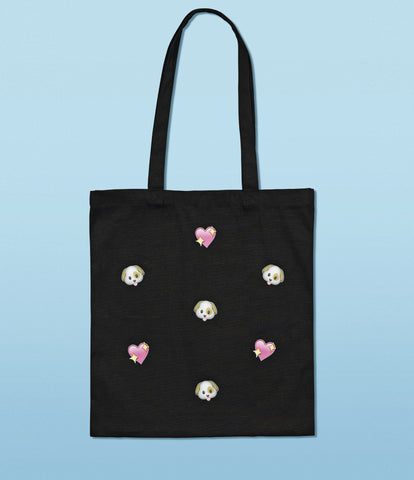 'doggy' tote bag