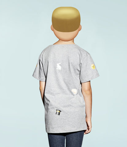 fun emoji artwork kids T-shirt