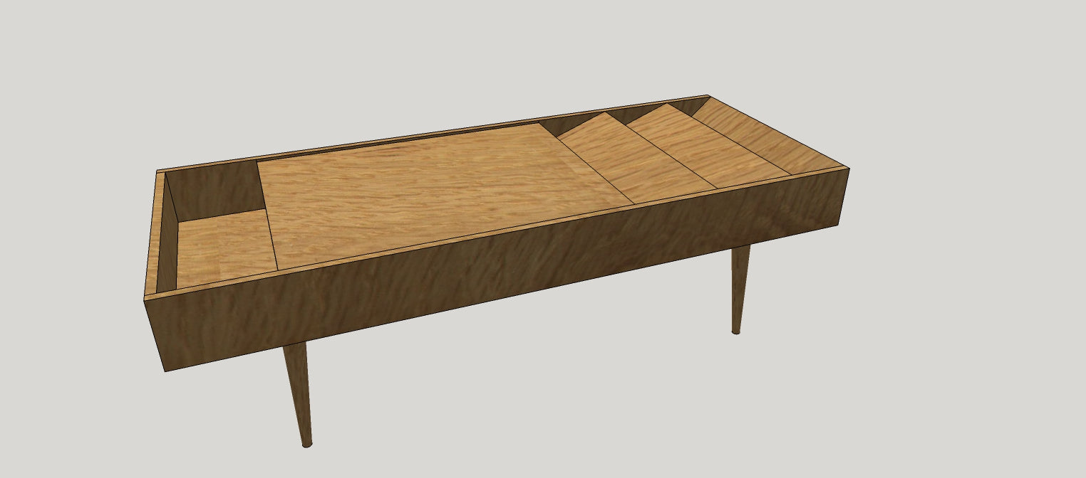 century modern coffee table karl coconut mid furniture tables cocktail springer of listings scroll