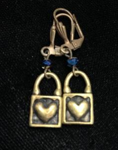 Blue Heart Lock