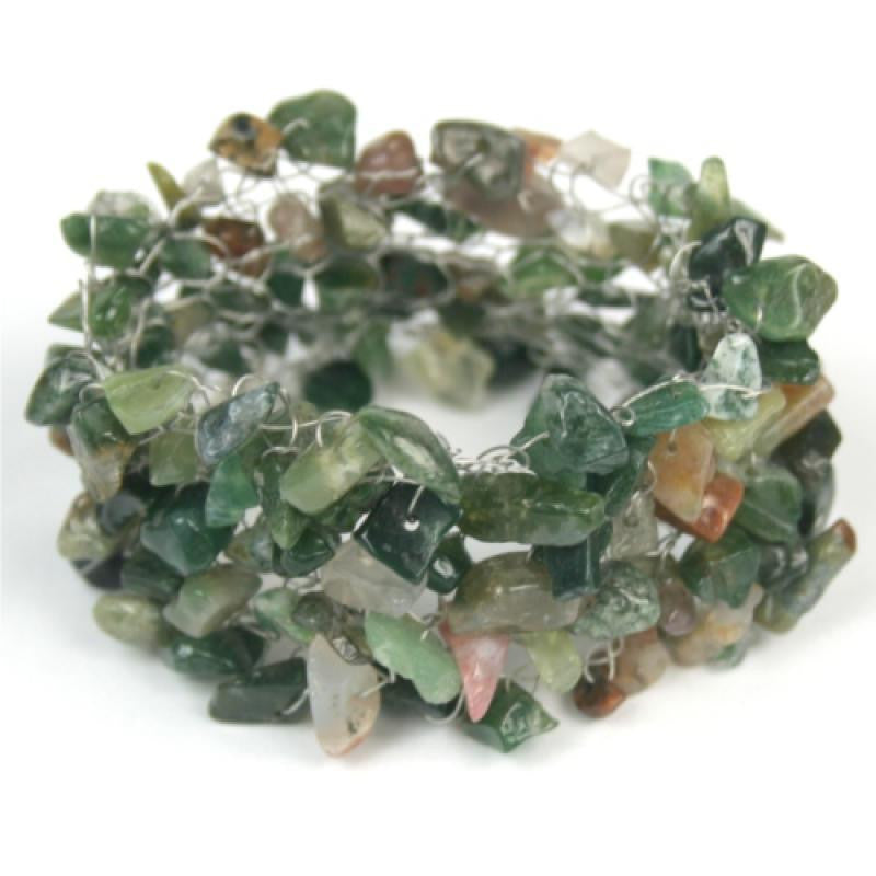"""green"" is made of agate chips"