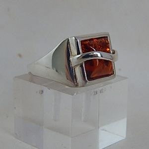 Amber Ring - Side View