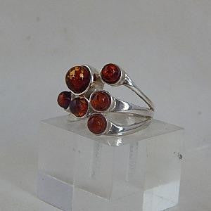 Left Side View of Amber Ring