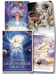 Sample of cards in Lightworker Oracle