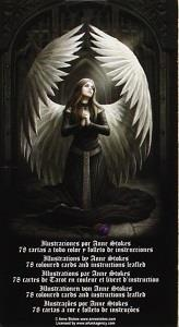 Back side of Anne Stokes Gothic Tarot Deck