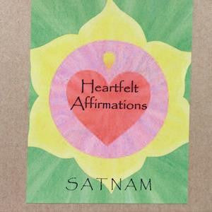 heartfelt affirmations cover