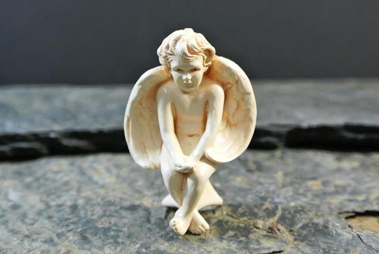 western mysteries statue - companion angel - 1.75""